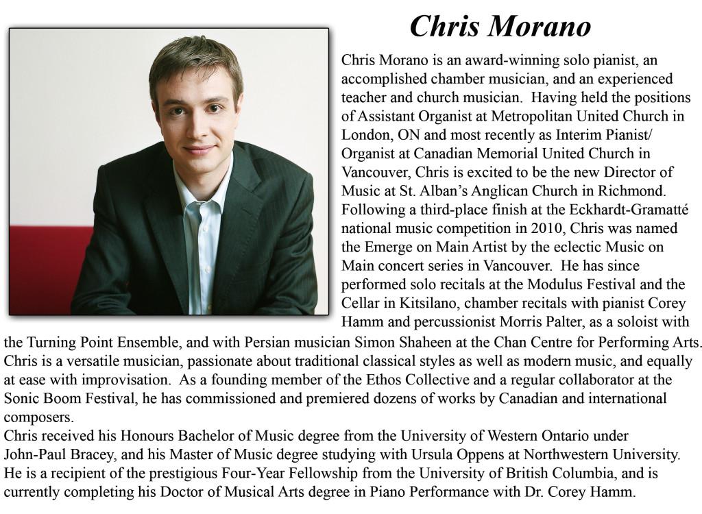 Chris M Bio