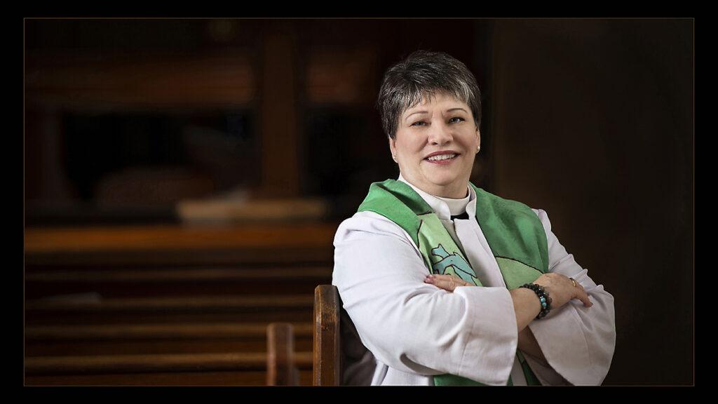 Portrait of Vicar Paula Porter Leggett